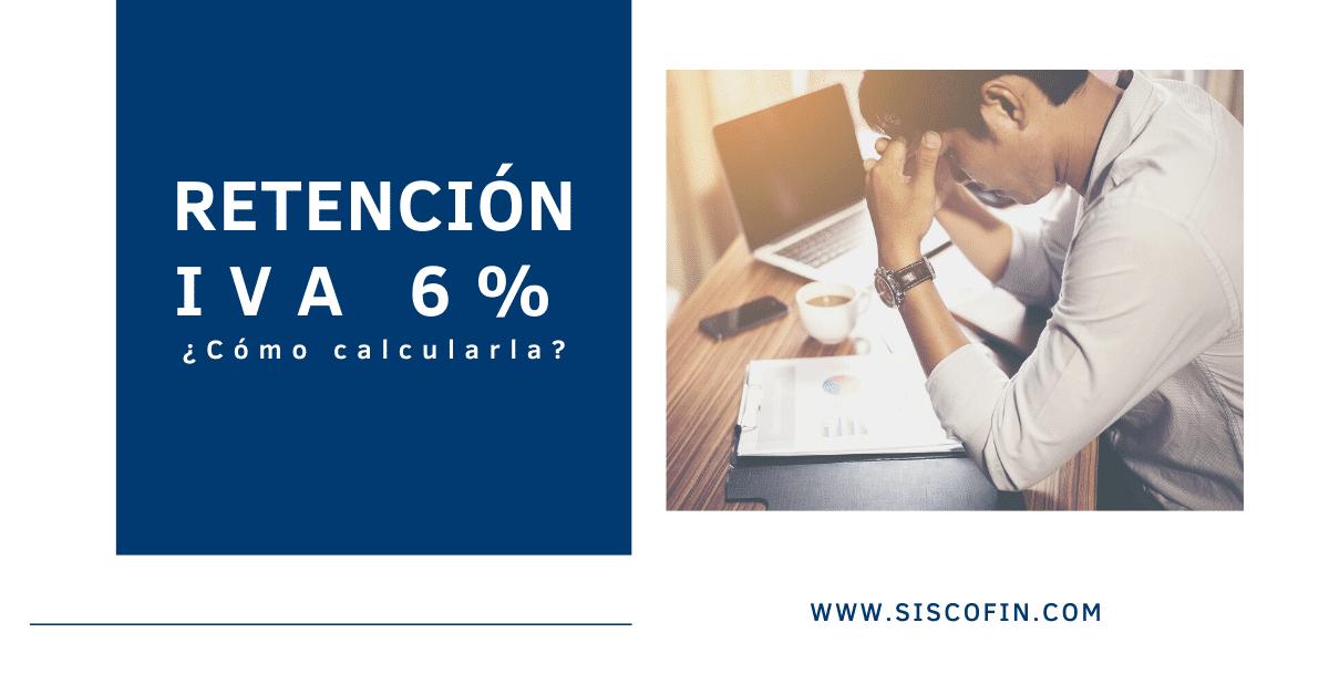 RETENCIÓN IVA 6% CONTPAQi